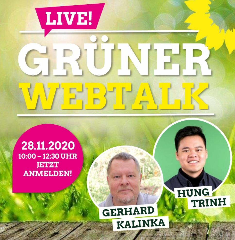 Grüner Web-Talk