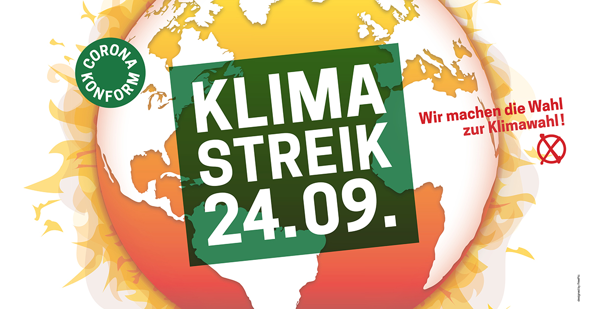 Globaler Klimastreik am 24. 09.